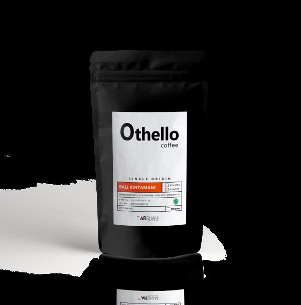 Othello Coffe Single origin Packaging depan